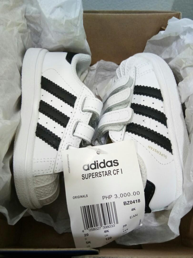 Adidas Originals Superstar CF i (For Kids)   Tyke Mart